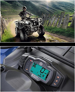 квадроцикл Yamaha Grizzly 550